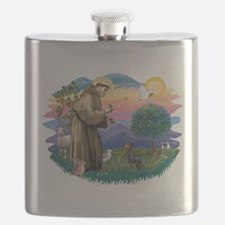 St.Francis #2/ Manchester T Flask