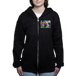 ST. FRANCIS + OES Women's Zip Hoodie