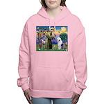 ST. FRANCIS + OES Women's Hooded Sweatshirt