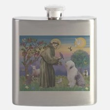 ST. FRANCIS + OES Flask
