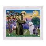 ST. FRANCIS + OES Throw Blanket