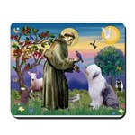 ST. FRANCIS + OES Mousepad