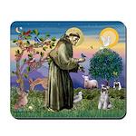 St.Francis / Mini. Schnauzer Mousepad