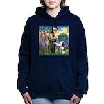 St Francis & Husky Women's Hooded Sweatshirt