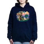 St Francis #2 / Wheaten Women's Hooded Sweatshirt