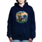 St Fran(f) - 2 Ragdolls Women's Hooded Sweatshirt