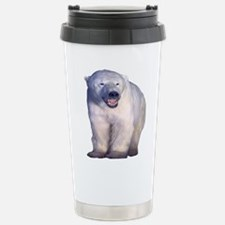 the polar bear Stainless Steel Travel Mug
