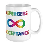 Aspergers Acceptance Mugs