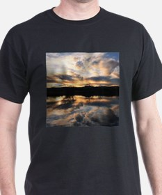 SUN REFLECTED ON LAKE T-Shirt