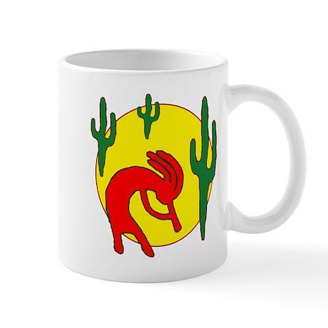 desert kokopelli Mug