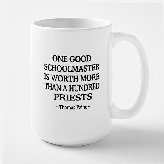 100 Priests Large Mug