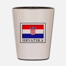 Unique Zagreb Shot Glass