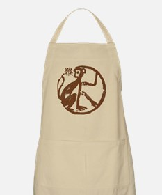 Chinese Zodiac Monkey Abstract Apron