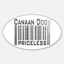 Canaan Dogs Owner Dog Lover Oval Decal