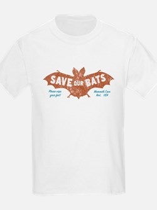 Mammoth Cave Kentucky Bats T-Shirt