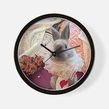 Rabbit Alice Wall Clock