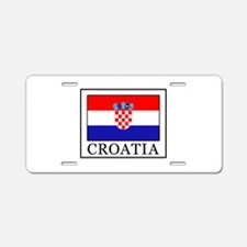 Croatia Aluminum License Plate