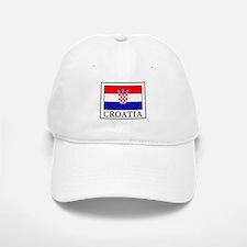 Croatia Baseball Baseball Cap