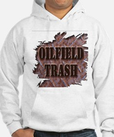 Oilfield Trash Rusted Riveted Metal Hoodie