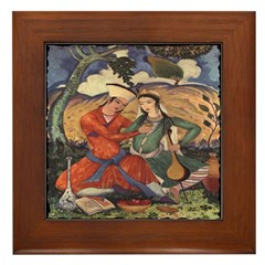Passion and Music Framed Tile