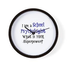school psychologist Wall Clock