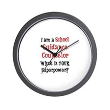 school guidance counselor Wall Clock