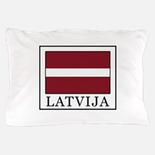 Latvija Pillow Case