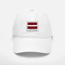 Latvija Baseball Baseball Cap
