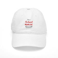school nurse Baseball Cap