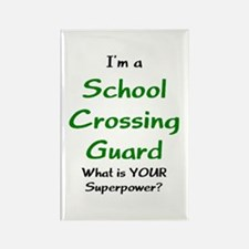 school crossing guard Rectangle Magnet