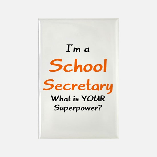 school secretary Rectangle Magnet