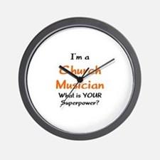 church musician Wall Clock