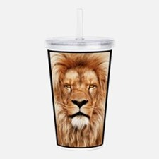 Lion - The King Acrylic Double-wall Tumbler