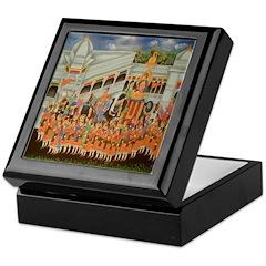 Mughal Procession Keepsake Box
