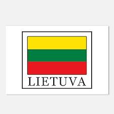 Lietuva Postcards (Package of 8)