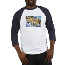 Wish you were here! Beach Baseball Jersey