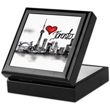 I love Toronto Keepsake Box