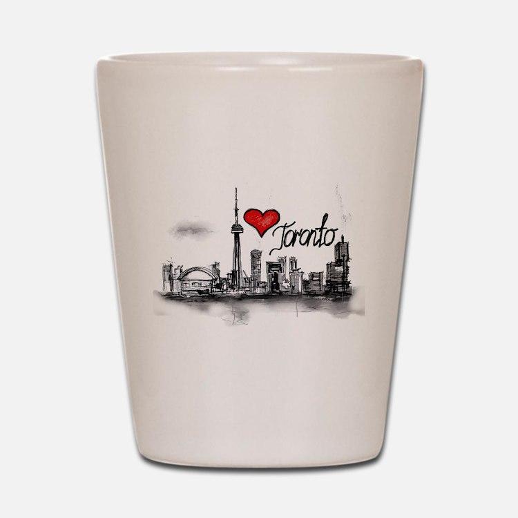 I love Toronto Shot Glass