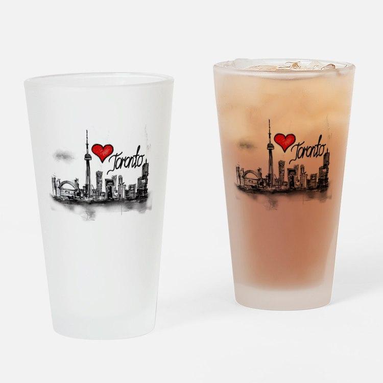 I love Toronto Drinking Glass