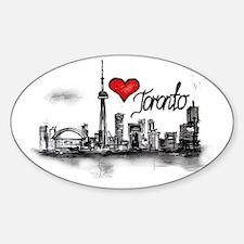 I love Toronto Decal