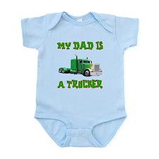 My Dad Is A Trucker Onesie