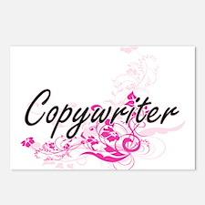 Copywriter Artistic Job D Postcards (Package of 8)