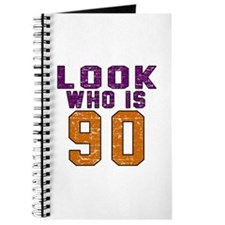 Look Who Is 90 Journal