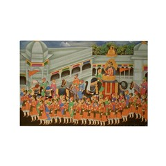 Mughal Procession Rectangle Magnets (10 pack)