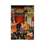 Mughal Harem Rectangle Magnets (10 pack)