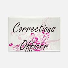 Corrections Officer Artistic Job Design wi Magnets