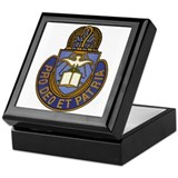 Army chaplain Keepsake Boxes
