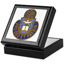 Chaplain Crest Keepsake Box