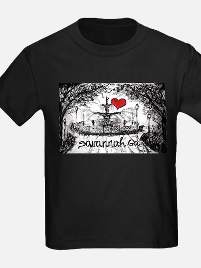 I love savannah Ga T-Shirt