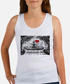 I love savannah Ga Tank Top